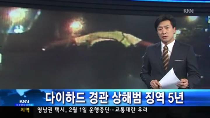 다이하드 경관 상해범 징역5년