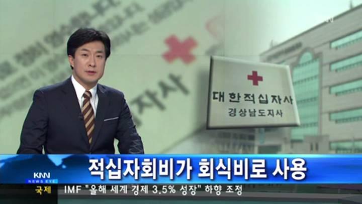 적십자 회비 12억원 수금원 지원