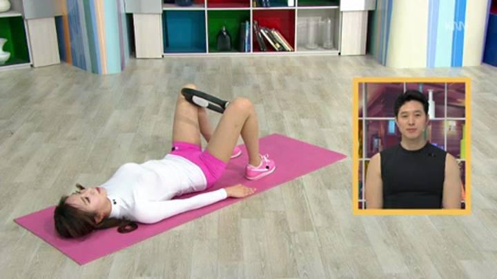 투데이 피트니스 허벅지&허리운동