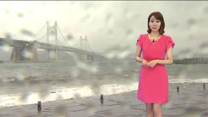 뉴스아이 날씨 -제 12호 태풍 나크리 간접 영향
