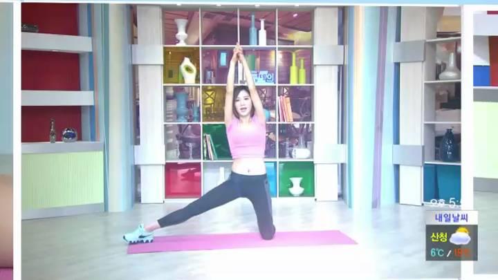 예정화의 피트니스 – 엉덩이 운동