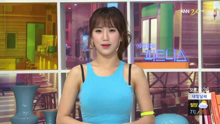 예정화의 피트니스 – 팔 운동