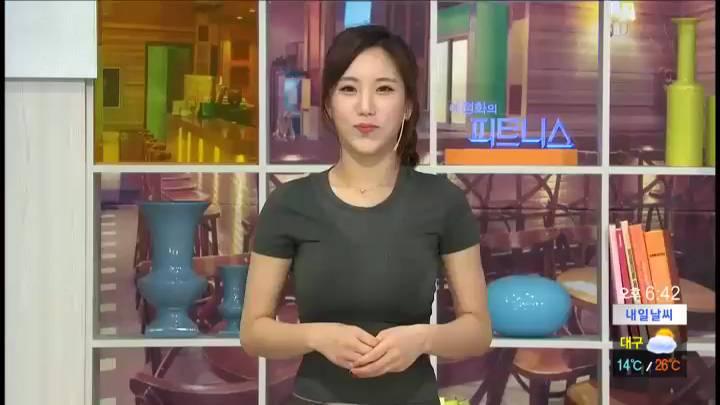 예정화의 피트니스 – 복부 운동