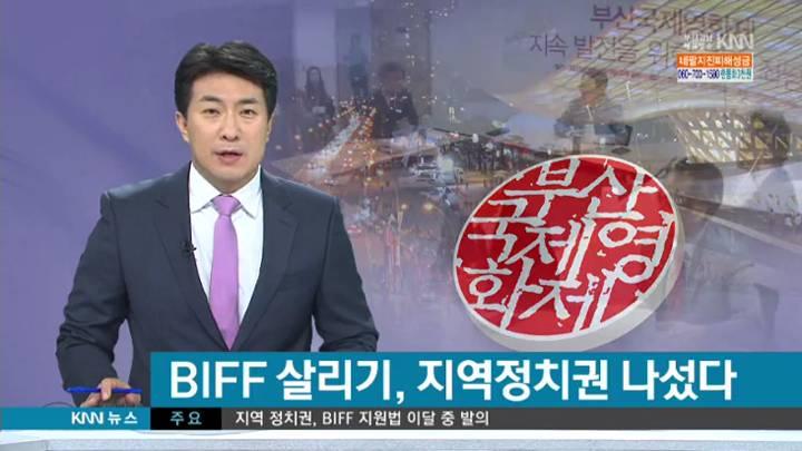 'BIFF 지원 특별법' 만든다!