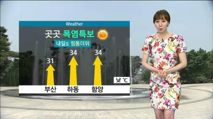 뉴스아이 날씨 7월27일(월)