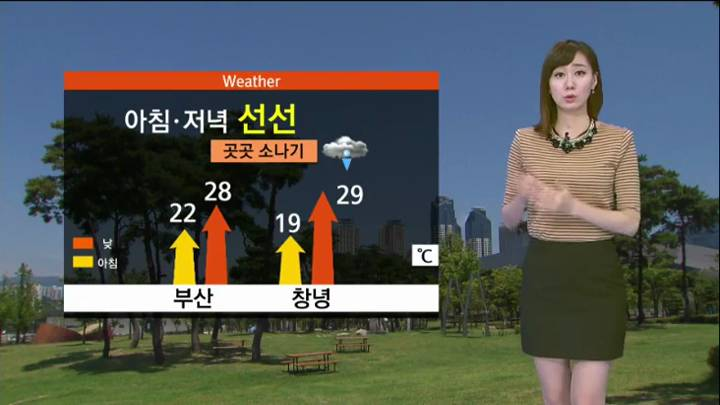모닝와이드 날씨2 9월3일(목)