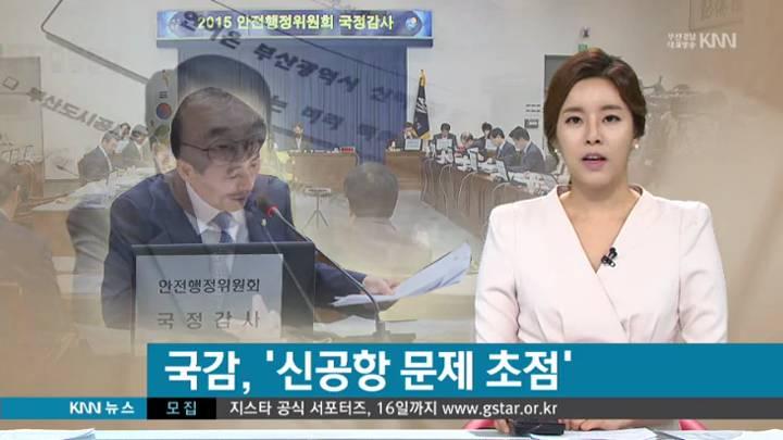 안행위, 부산시 부산경찰청 국감