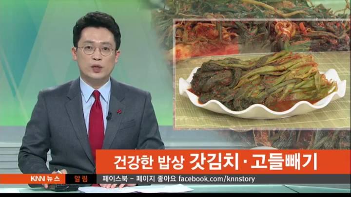 건강한밥상 – 갓김치*고들빼기