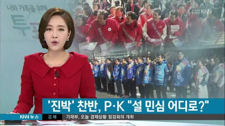 """""""진박"""" 찬반,  PK 설 민심 최대 쟁점"""