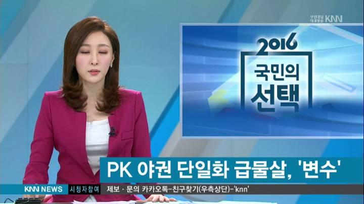 PK야권단일화 급물살, '변수'