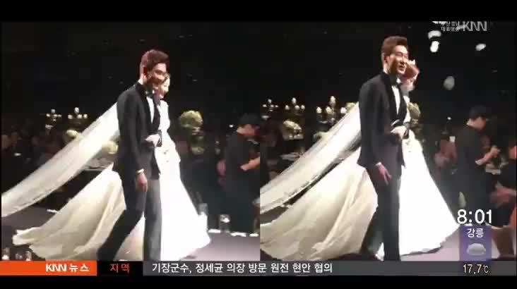KBS 조충현·김민정 아나운서 결혼