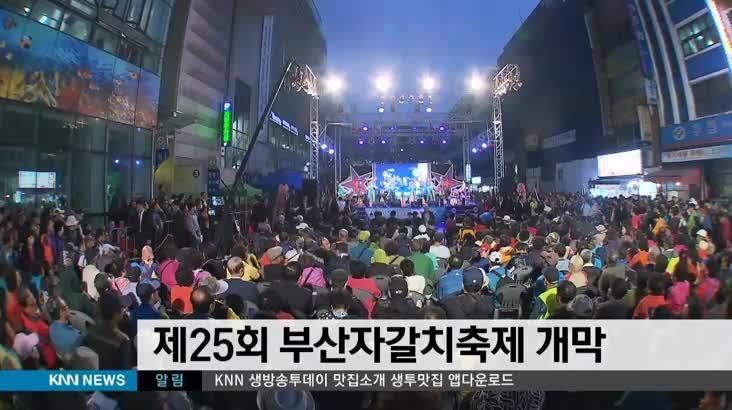 제 25회 부산 자갈치 축제 개막