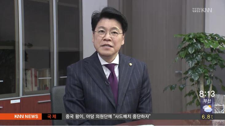 (인물포커스)-장제원 개혁보수신당 대변인