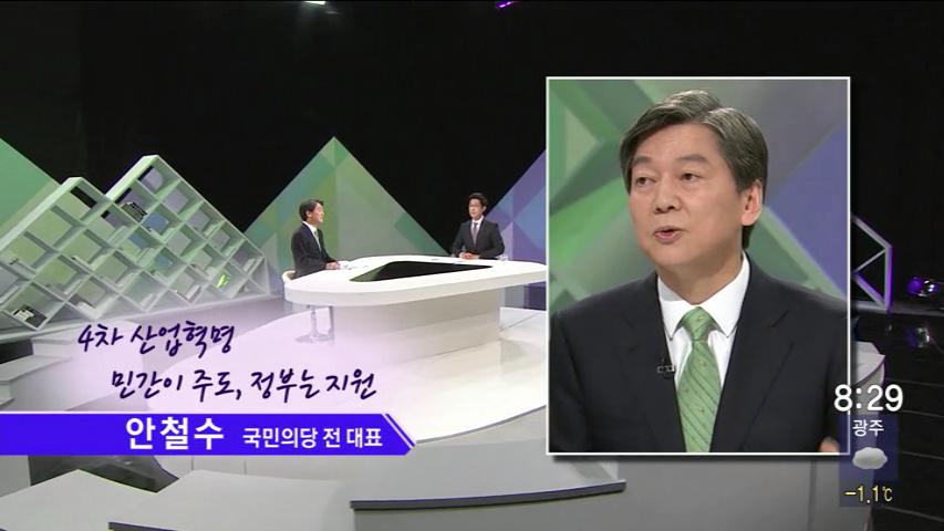 (02/12 방영) 파워토크(안철수/국민의당 전대표,심상정/정의당 상임대표)
