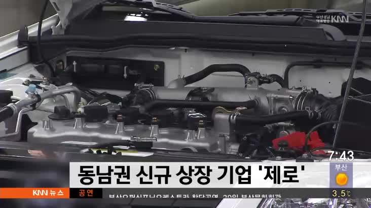 동남권 신규 상정 기업, 제로