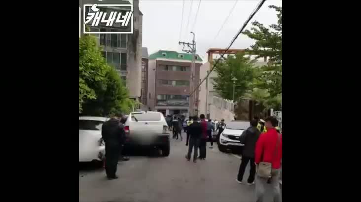 [캐내네]재송동 한빛공원 앞 대형사고 발생