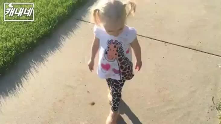 [캐내네]나한테서 떨어져!!