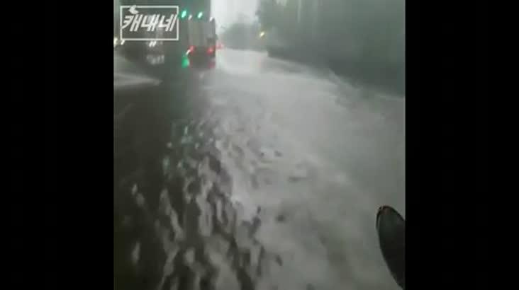 [캐내네]인천 폭우상황