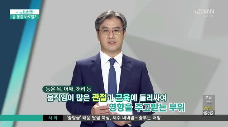 (09/15 방영) 등 통증 (세바른 병원 / 김훈 병원장)