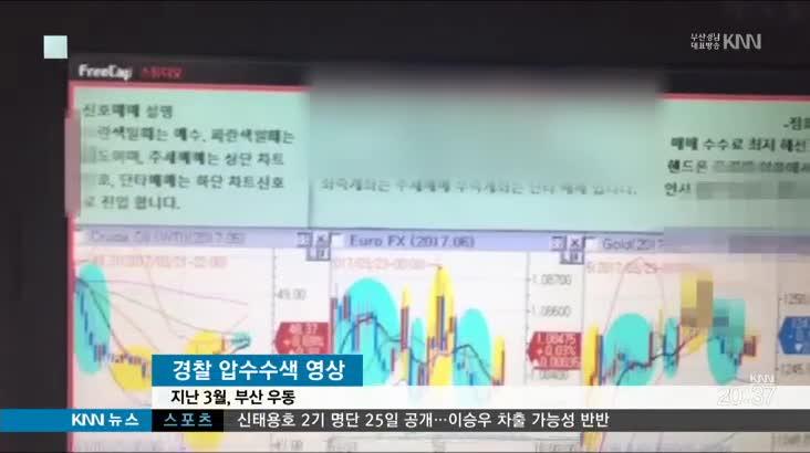 수천억대 불법 선물거래사이트 운영한 일당 검거