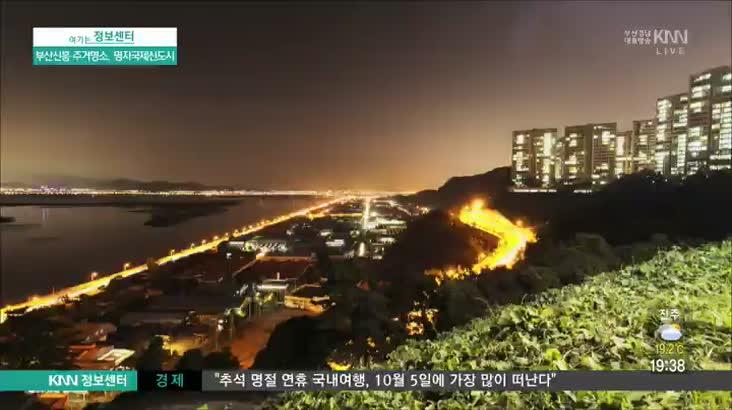(09/20 방영) 부산신흥 주거명소, 명지국제신도시