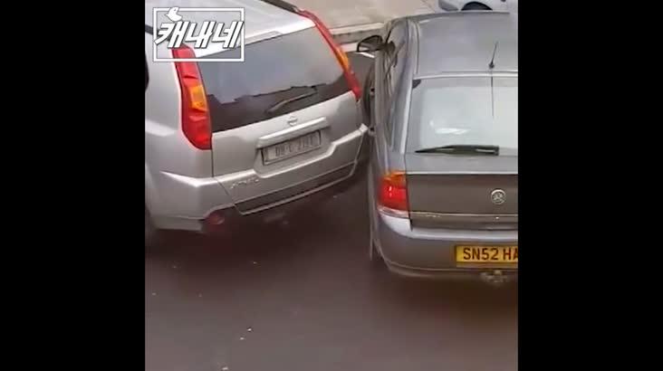 [캐내네]주차뿔라