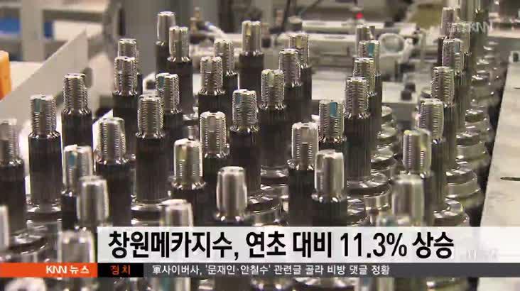 2017 창원메카지수, 연초대비 11.3% 상승