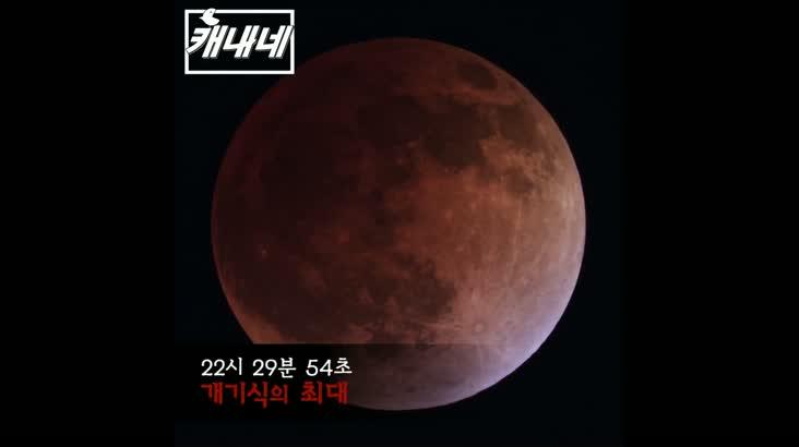[캐내네]슈퍼블루문개기월식