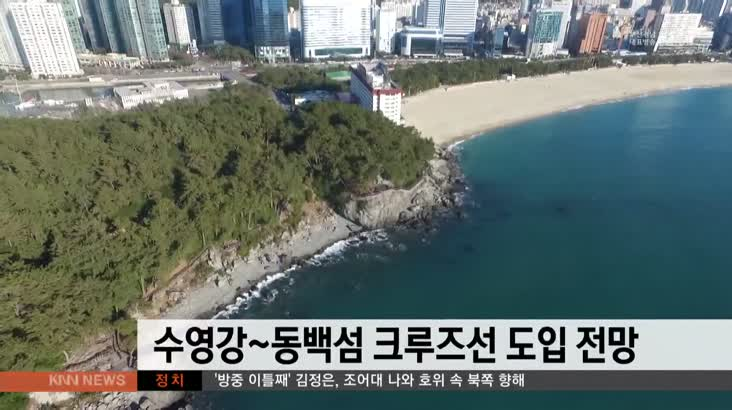 수영강~동백섬 크루즈선 도입 전망