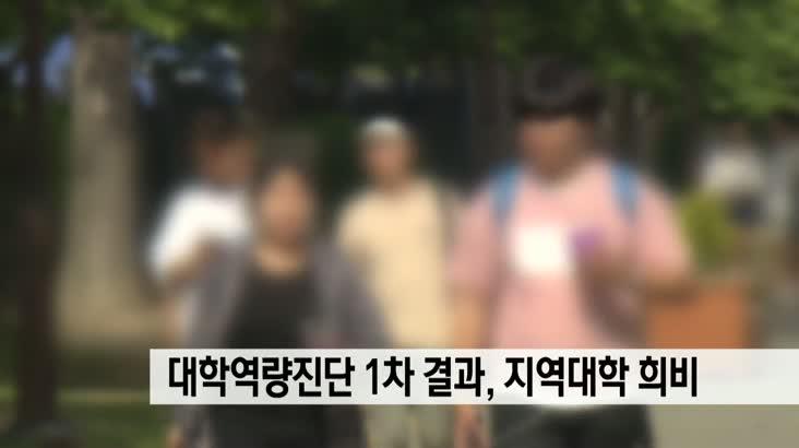 대학기본역량진단 1차결과에 지역대학 희비