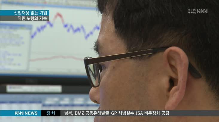 동남권 기업 5년째 직원 줄어…노령화 가속