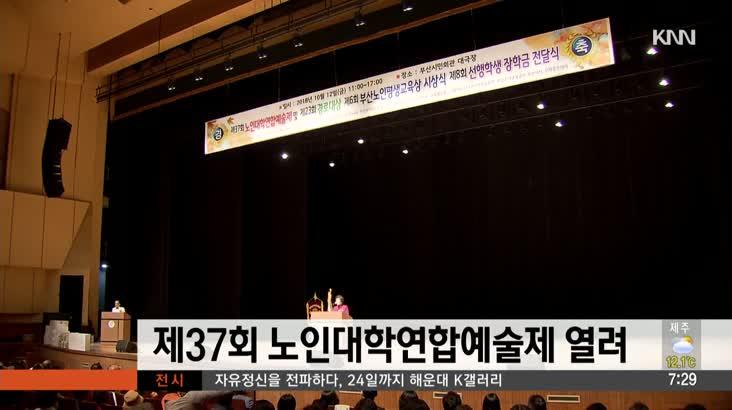 제37회 노인대학연합예술제 열려