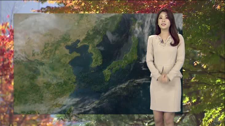 모닝와이드 날씨 11월10일(토)