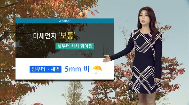 뉴스아이 날씨 11월11일(일)