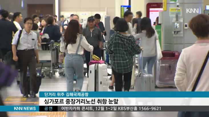 부산-싱가포르 직항 노선, 항공사들 선점 경쟁