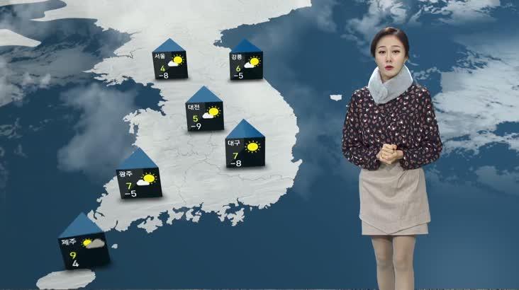 모닝와이드 날씨2 12월10일(월)