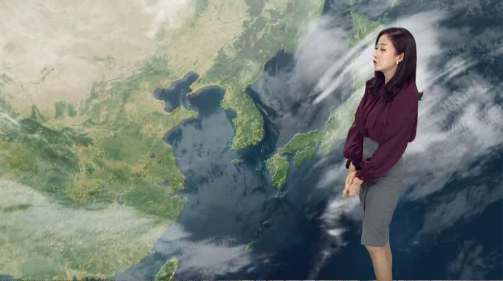 모닝와이드 날씨2 12월12일(수)