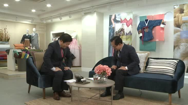 [1/3 인물포커스 자막] 6′ 장민철 한국실크연구원장