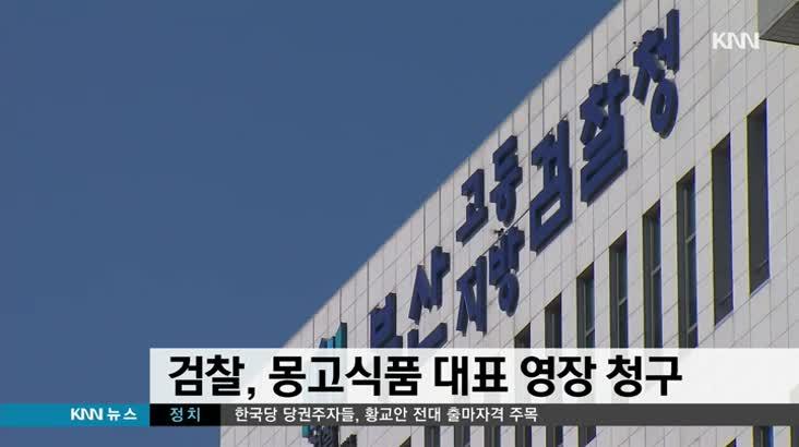 검찰, 몽고식품 대표 영장 청구