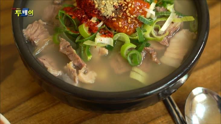 (05/24 방영) 부산. 경남 맛지도 – 신 김치육수 돼지국밥 & 돼지머리육수 국밥