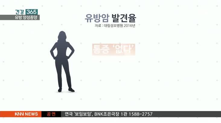 [건강 365]찌릿한 가슴통증, 유방 양성종양일 수도