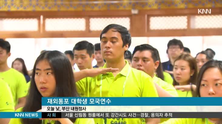 독립운동가 후손 등 재외동포 대학생 모국 연수