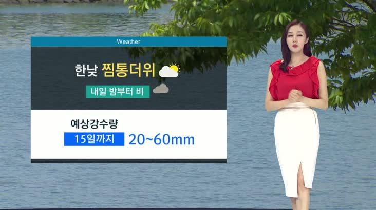뉴스아이 날씨 8월13일(화)