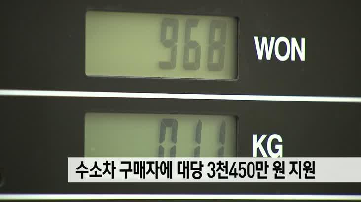 부산시 수소차 구매자 159명 지원