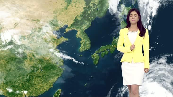 모닝와이드 날씨 10월9일(수)