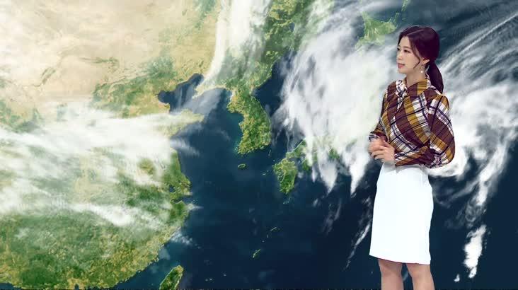 모닝와이드 날씨 10월25일(금)