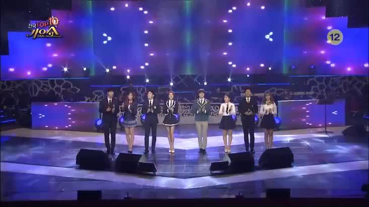 (10/26 방영) 전국 TOP10 가요쇼