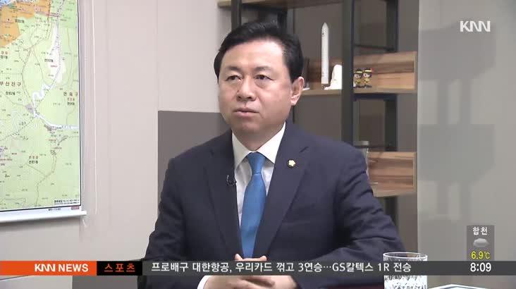 [인물포커스]-김영춘 민주당 의원