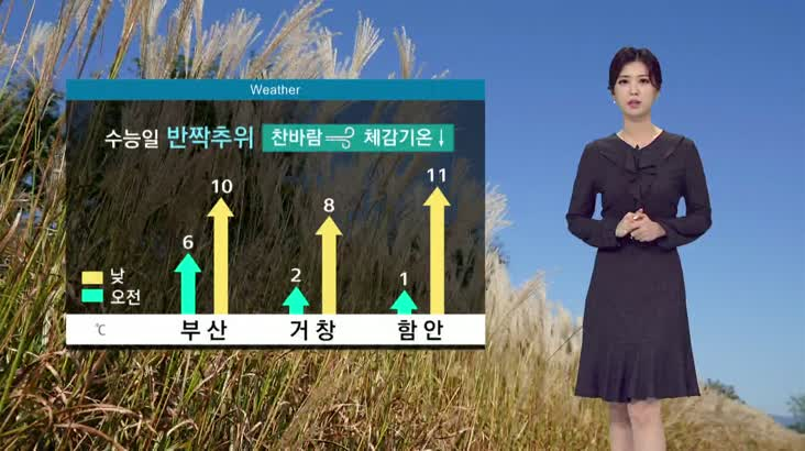 뉴스아이 날씨 11월13일(수)