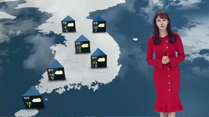 모닝와이드 날씨2 11월21일(목)